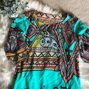Aztec Print Dress ✨